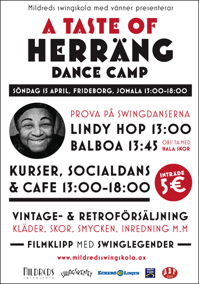 Mildreds swingskola arrangerar A TASTE OF HERRÄNG